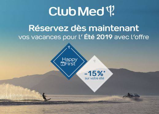 HAPPY FIRST CLUB MED
